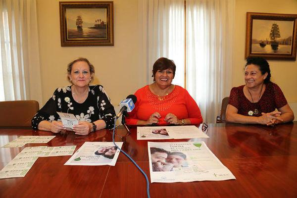 La Concejala de Sanidad, Alicia Laddaga, y la Presidenta de la Asociación Española Contra el Cáncer anuncian que la recaudación del sorteo de la lotería nacional del próximo 6 de mayo se destinará a la AECC