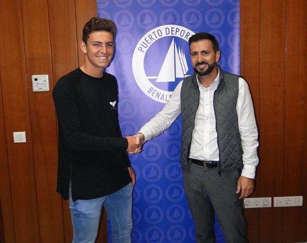 El Puerto Deportivo de Benalmádena patrocinará al Campeón de España de Tenis Sub-15, Luis Gomar