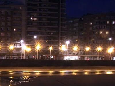 Nuevos proyectores de luz en las playas