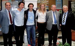 Oscar, Renzo y Mara