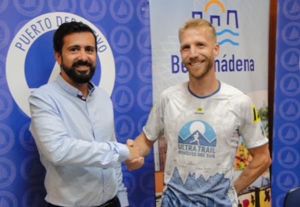 el Puerto Deportivo patrocinará al campeón andaluz de ultratrail, Rubén Heemskerk Herrero.