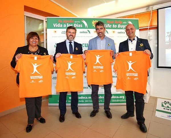 El Alcalde de Benalmádena participa en la Presentación de la 15º Edición del Walkathon de Cudeca