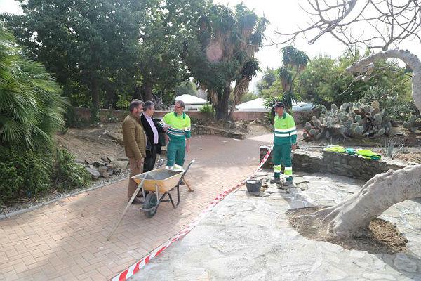 El Ayuntamiento incorpora mejoras en el mantenimiento del Parque de la Paloma