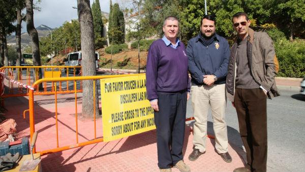 La Delegación de Servicios Operativos acomete mejoras en varias zonas del municipio