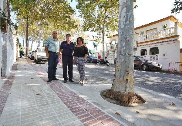 El Ayuntamiento prosigue su Plan de Mejoras en Barriadas realizando varias actuaciones en la Avenida Inmaculada Concepción