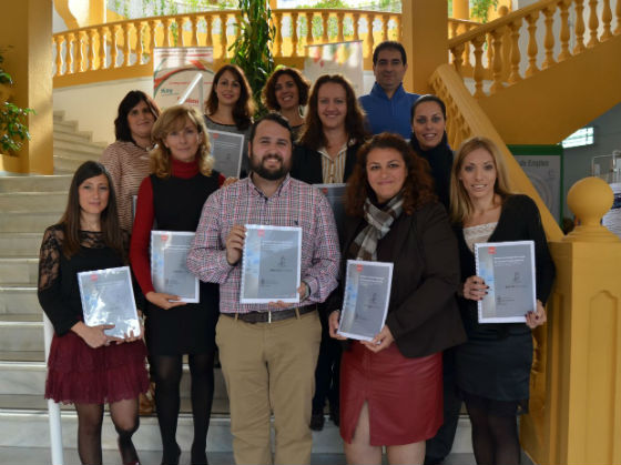 La Delegación de Empleo presenta la memoria de trabajo del 2013 del Centro Municipal de Formación Benalforma