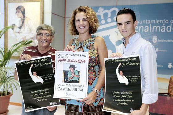 El Castillo El Bil-Bil acogerá el próximo 5 de agosto el VII Memoria-Exposición Pepe Marchena