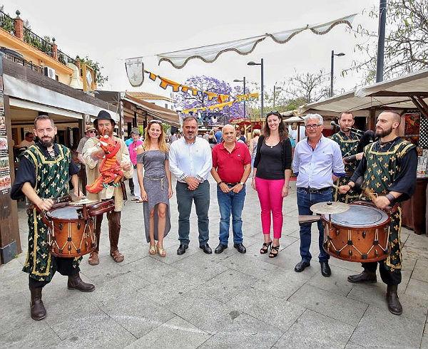 El Mercado Medieval de Arroyo de la Miel estrena hoy su nueva ubicación en la Avenida de la Constitución
