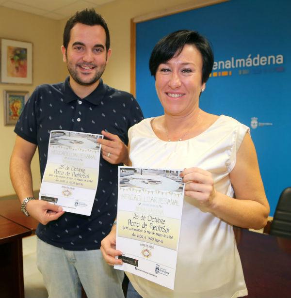 Concepción Tejada presenta el Mercadillo de Artesanía Mundo Tres de Bastos
