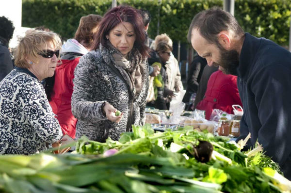 La Plaza de Pueblosol acoge una nueva edición de la Feria Ecológica