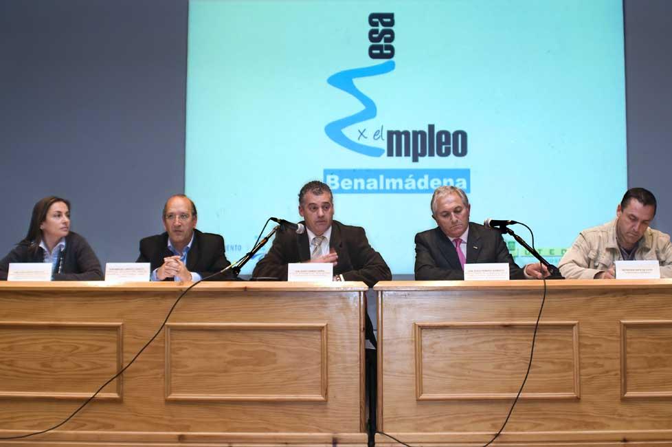 Benalmádena presenta su Mesa por el Empleo