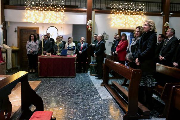 La Hermandad del Rocío de Arroyo de la Miel celebra su primer aniversario con una Misa de Acción de Gracias
