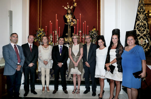 La Hermandad del Nazareno celebra el 75 aniversario de la llegada de la imagen a Benalmádena