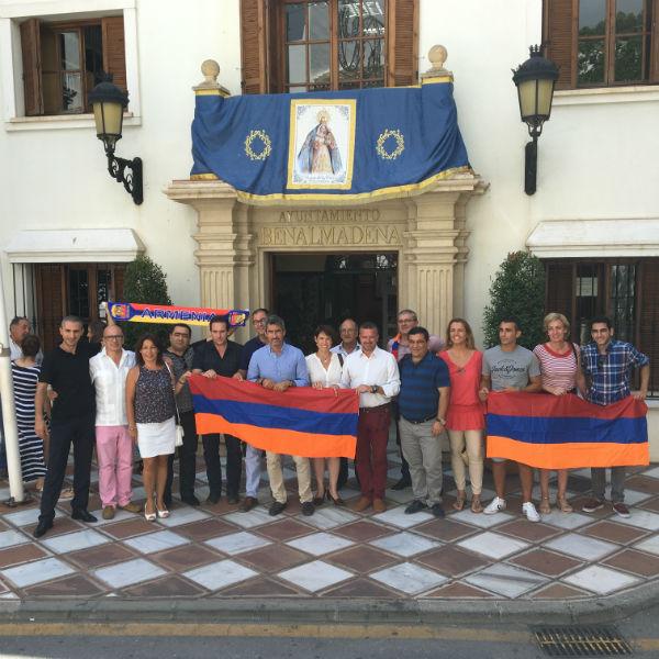 Todos los partidos con representación en el Ayuntamiento se unen para reconocer y condenar el genocidio contra los armenios
