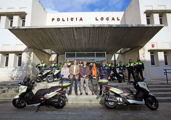 La Policía Local de Benalmádena refuerza su parque móvil con la adquisición de ocho nuevas motocicletas