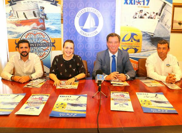 El Puerto Deportivo de Benalmádena, un año más con la Semana Náutica de Melilla