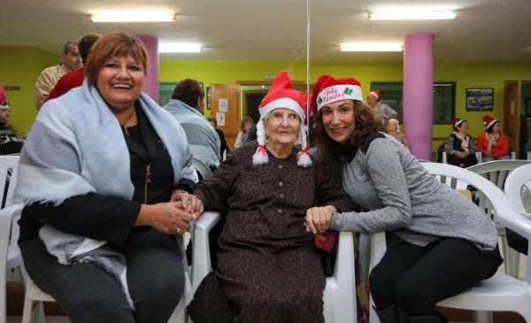 La Concejala Alicia Laddaga participa en la Fiesta de Navidad de los Usuarios de Programa 'También Contamos Contigo. Sin Barreras'