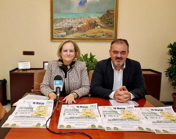 El Concejal de Comercio, Bernardo Jiménez, presenta el nuevo Networking de la AECC