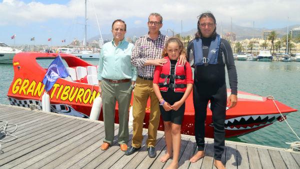 El Puerto Deportivo presenta el Jetboat, una potente embarcación que constituye una nueva e impresionante atracción turística