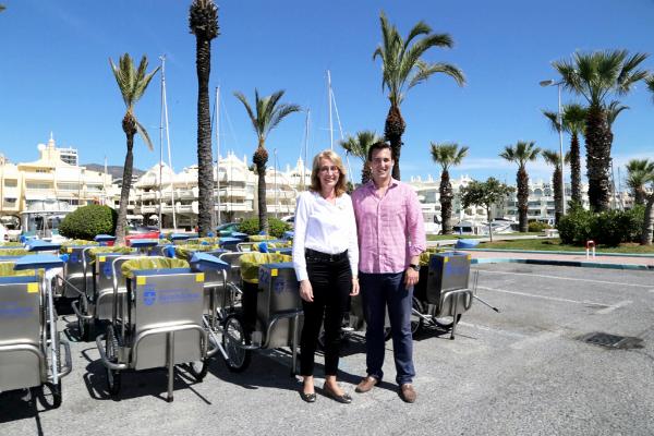 Benalmádena renueva parte de su flota de limpieza para 'seguir ofreciendo un servicio excelente y potenciar la imagen de calidad del municipio'