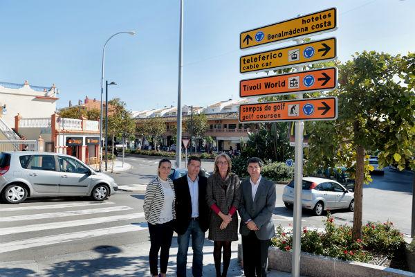 Concluye la instalació de la nueva señalización turística para hoteles, centros de ocio y campos de golf