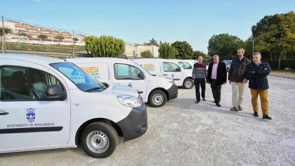 Emabesa inicia la renovación de su parque móvil con la adquisición de nueve vehículos