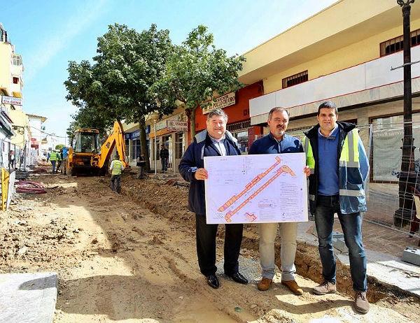 El Ayuntamiento inicia las obras de mejora de la Calle Antonio García