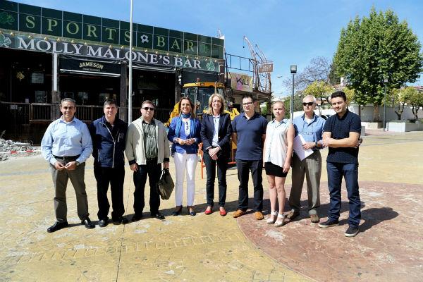 El Ayuntamiento impulsa la remodelación y mejora de la Plaza Solymar