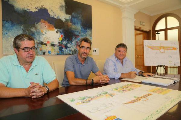 El Ayuntamiento invertirá 550000 Euros en la remodelación integral del Paseo del Generalife