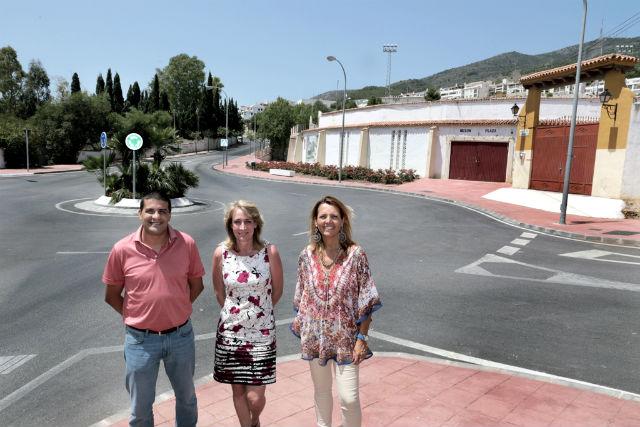 El Ayuntamiento acometerá obras de embellecimiento, mejora y señalización en la rotonda de Arroyo Hondo, que se convertirá en entrada oficial de Benalmádena Pueblo