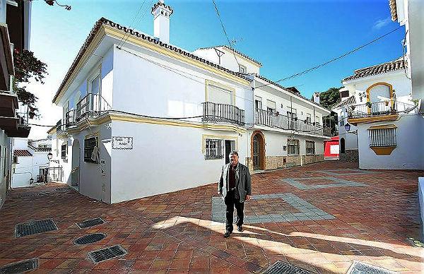 Finalizan las obras de remodelación de Calle Almería y Plaza Munich en Benalmádena Pueblo