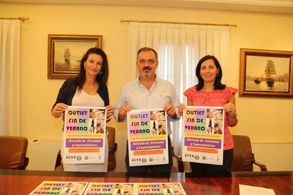 La Calle Blas Infante será escenario este fin de semana del Outlet Fin de Verano y Mercadillo Artesanal