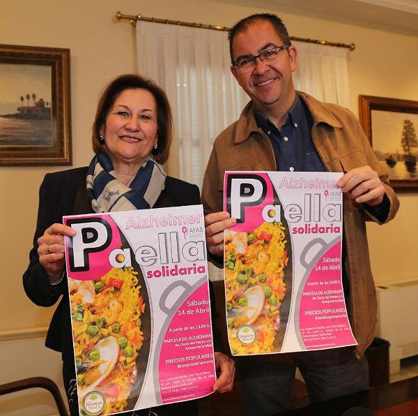 AFAB celebrará el 14 de abril una Paella Solidaria en la parcela del futuro Centro de Alzheimer de Benalmádena