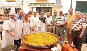 La ACEB realizo su tradicional Paella popular.