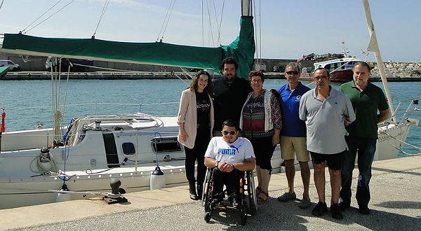 El Puerto Deportivo renueva su compromiso de colaboración con el deporte de personas con discapacidad física