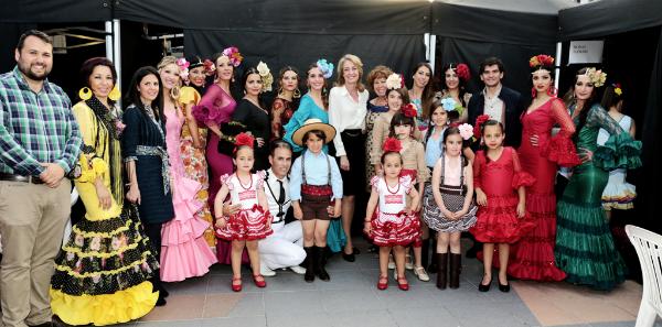 Más de 2.000 personas disfrutan de la IV Pasarela de Moda 'Casual&Flamenca'