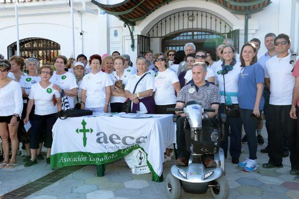 Benalmádena se suma con una marcha a la conmemoración del Día Mundial Contra el Tabaco