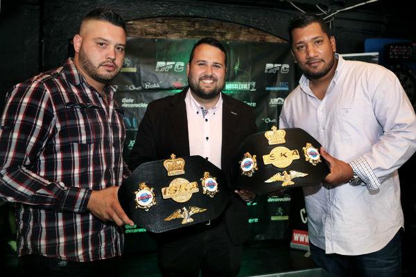 Benalmádena acoge el pesaje para los combates profesionales del Campeonato de España de K-1