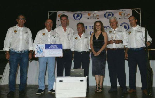 La embarcación Euromar III se impueso en el XXIII Torneo de Pesca de Altura con la pesca de un dorado de más de 11 Kilos