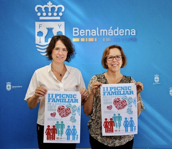 Benalmádena reivindica la igualdad con la Celebración del II Picnic Familiar por la Diversidad