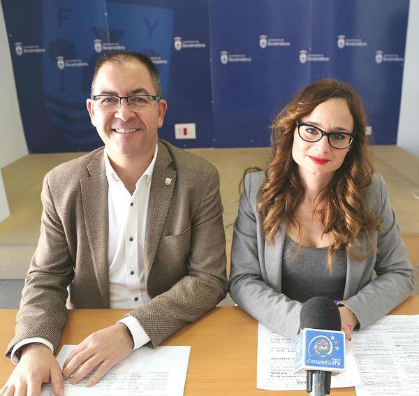 Los Concejales Javier Marín y Beatriz Olmedo informan sobre el inicio del Plan de Empleo 'Programa Extraordinario de Ayuda a la Contratación'