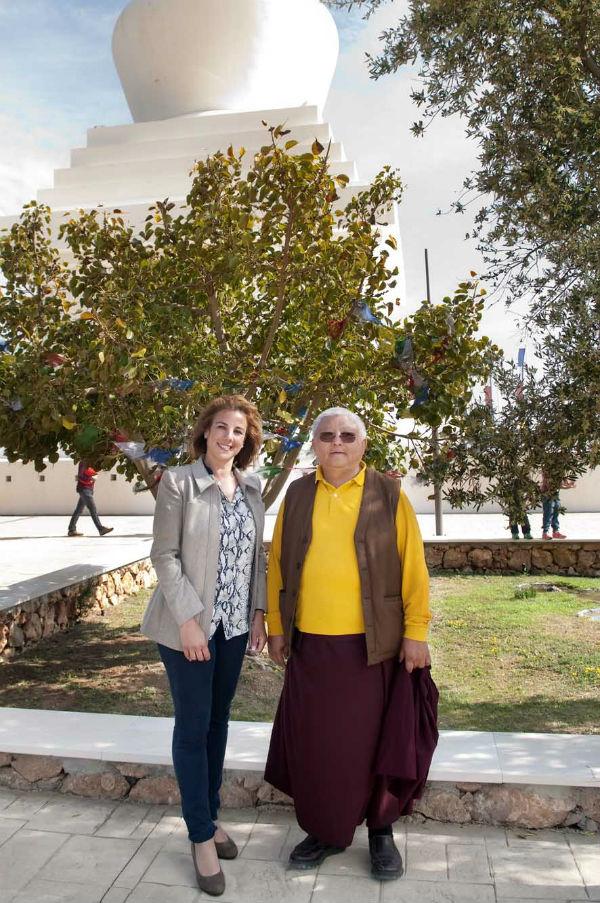La Estupa de la Ia Iluminación acogío un programa de conferencias a cargo del Lama Gigme Rinpoche