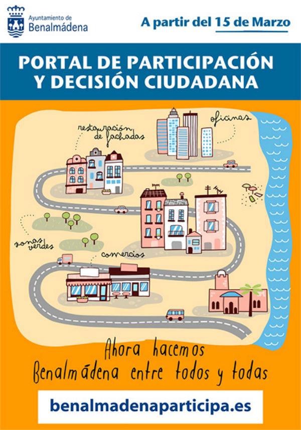 El Portal de Participación Ciudadana comenzará a funcionar mañana 15 de marzo