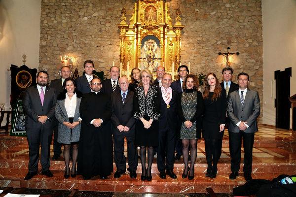 La alcaldesa preside el pregón de la Hermandad del Coronado de Espinas de Arroyo de la Miel.