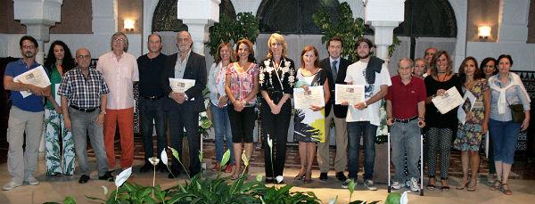 La alcaldesa preside la entrega de premios del XIV Certamen de Acuarela 'Ciudad de Benalmádena'