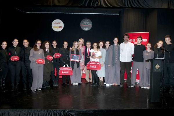 La regidora preside la XI edición de los Premios 'Buero' de Teatro Joven