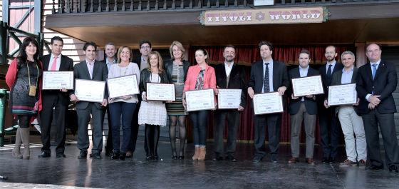 La alcaldesa preside la entrega de los IX Premios de Turismo Interior de 'Málaga Rural'