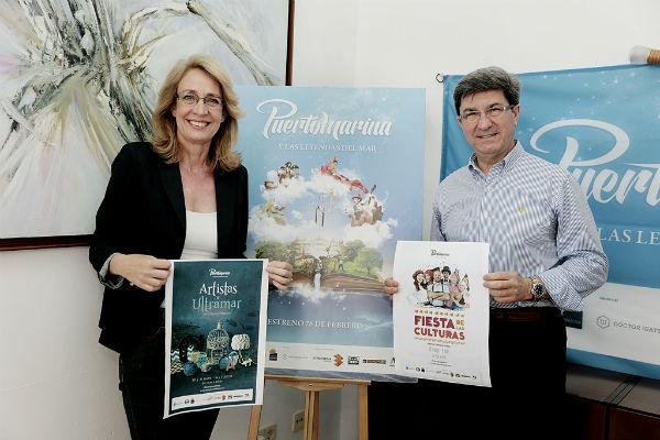 Los Artistas de Ultramar y la Fiesta de las Culturas son las propuestas de Puerto Marina para el próximo fin de semana