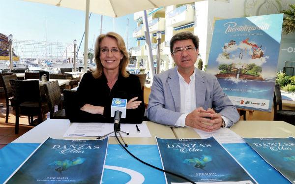 El Puerto Deportivo recibirá el próximo sábado el espectáculo musical 'Danzas del Mar'