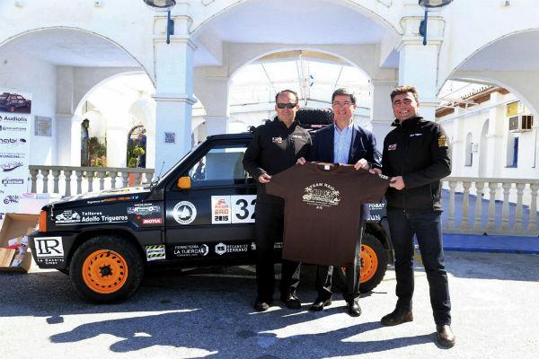 El benalmadense Jerónimo Carrique y el torremolinense Adolfo Trigueros participarán en el 'Panda Raid 2015'